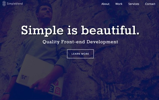 simpleblend front-end developer
