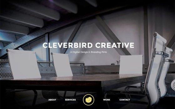 cleverbirds one page portfolio