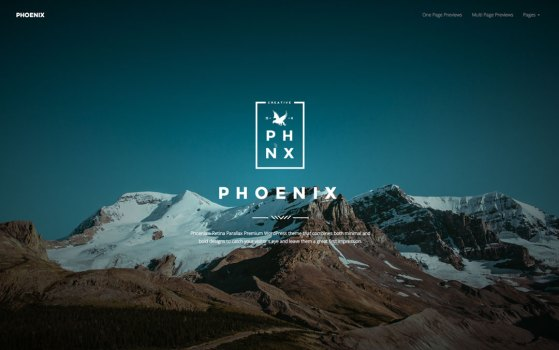 Phoenix - WordPress Minimal Multipurpose Portfolio with Visual Composer