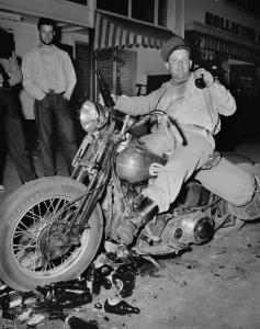 Hollister Riot Drunk Biker