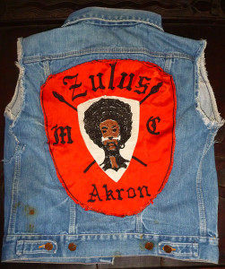 Zulus Motorcycle Club Patch Akron
