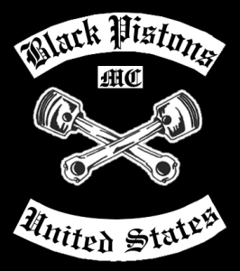 Black Pistons MC Logo