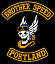 Brother Speed MC Logo Patch