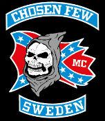 Chosen Few MC Sweden Patch Logo