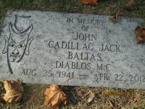 Diablos MC Jack Baltas Caddilac Jack Grave