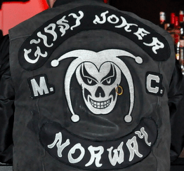 Gypsy Joker MC Patch Logo Norway