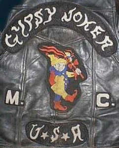 Gypsy Joker MC Patch Logo USA