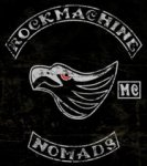 Quebec Biker War Rock Machine MC Patch Logo
