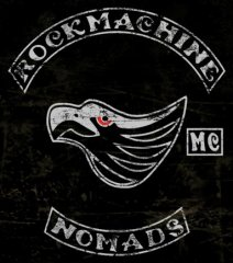 Rock Machine MC Patch Logo