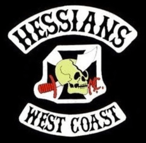 Hessians MC Patch Logo
