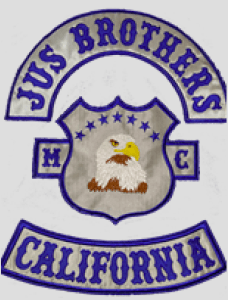 Jus Brothers MC Patch Logo