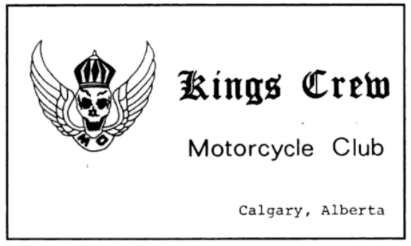 Kings Crew MC Courtesy Card