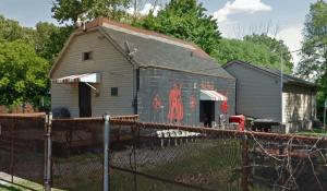 Original Red Devils MC Clubhouse Hamilton Ontario Canada