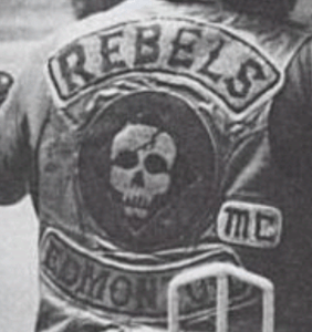 Rebels MC Patch Logo Canada