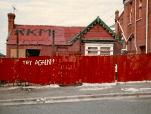 Road Knights MC Clubhouse Timaru circa 1983 Theodosia St