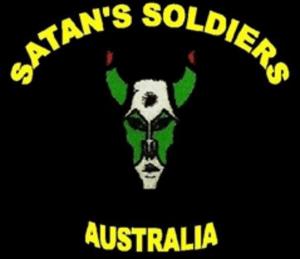 Satans Soldiers MC Patch Logo Australia