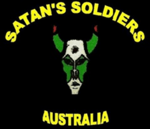 Satans Soldiers MC Patch Logo Australia