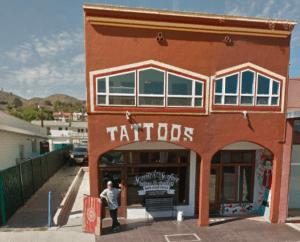 George Christie Scratch the Surface Tattoo Ventura