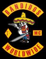 Colin Caesar Campbell Bandidos MC Logo