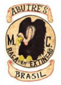 Abutre's MC patch logo 2