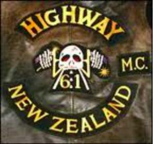 Highway 61 MC patch logo