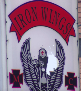 Iron Wings MC Patch Logo