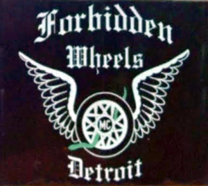 Forbidden Wheels MC patch logo