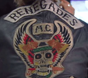 Renegades MC patch logo Australia