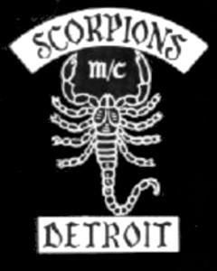Scorpions MC patch logo
