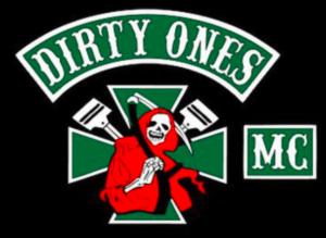 Dirty Ones MC patch logo