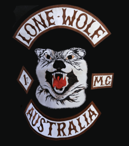 Lone Wolf MC patch logo
