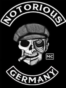 Notorious MC Germany patch logo