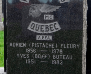 Yves Buteau Hells Angels Le Boss Popeyes grave buried