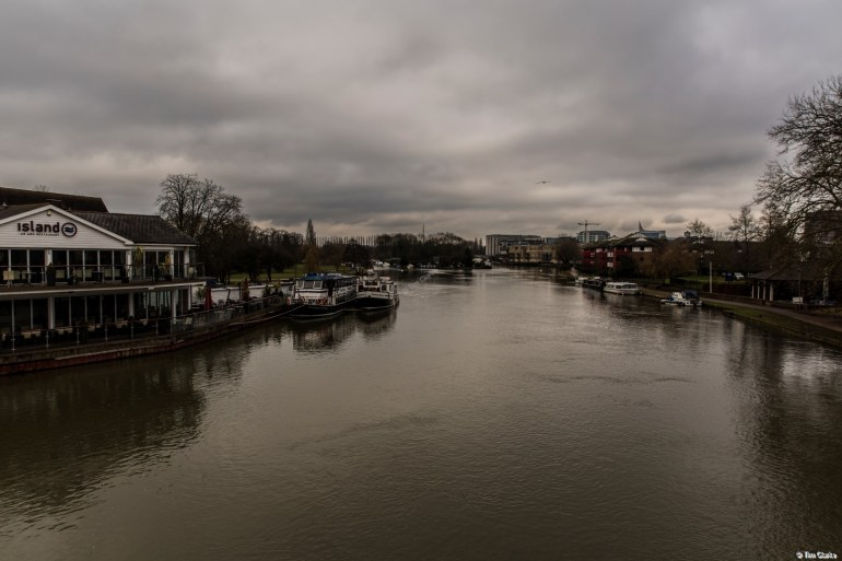 River Thames at Reading.
