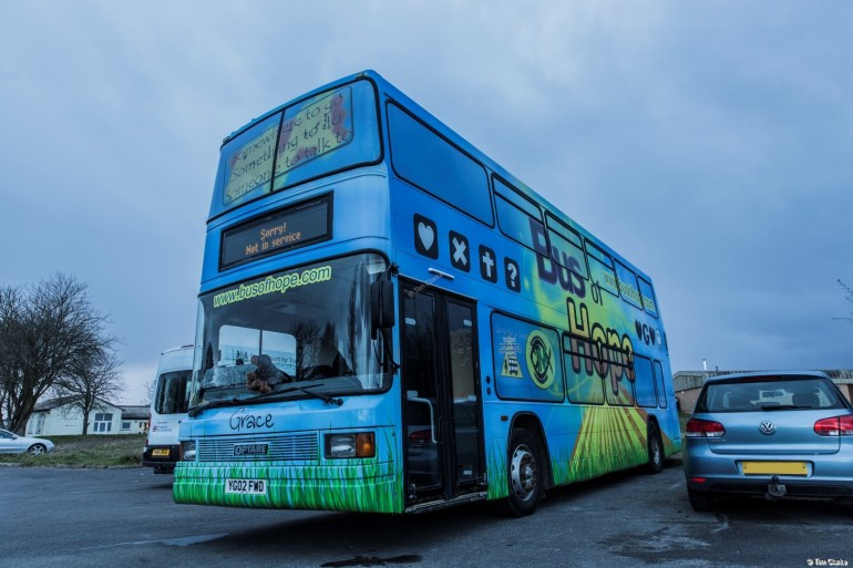 Bus of Hope: Ex-Reading Daf/Optare
