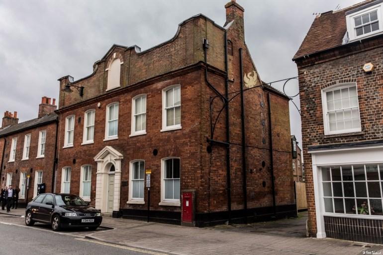 Former Phoenix Brewery buildings, Newbury.
