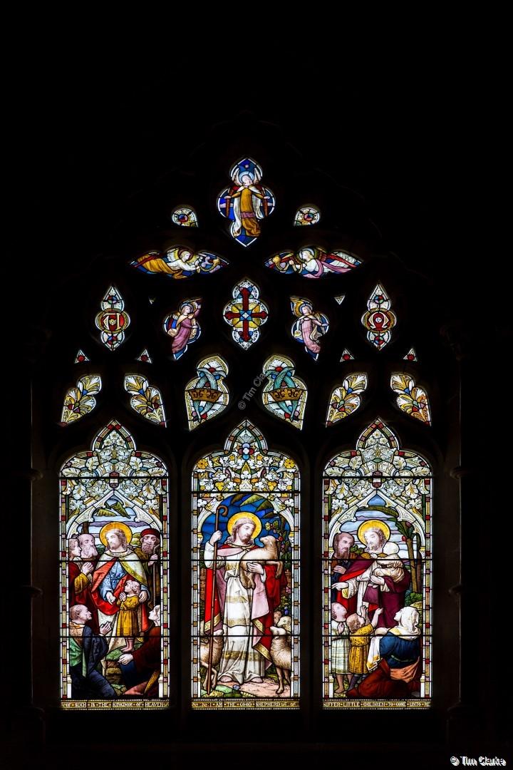 East Window, St Peter's Church, Brimpton.