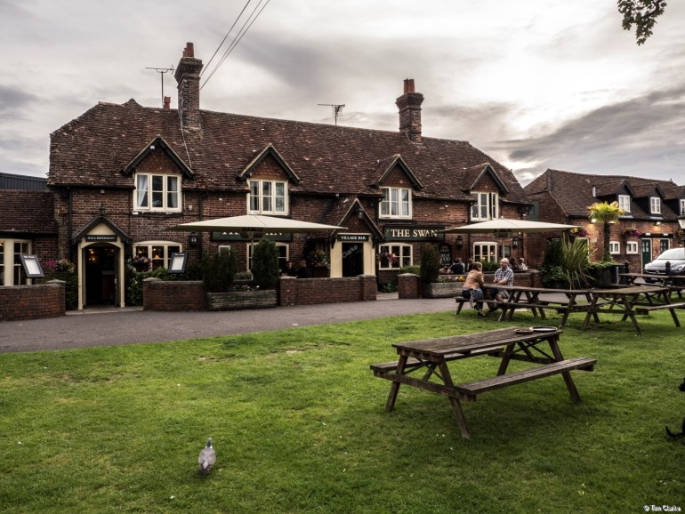 The Swan, Thatcham: Good Old Fashioned Coaching Inn.