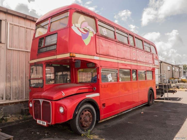 Routemaster Bus: Looking a bit forlorn.