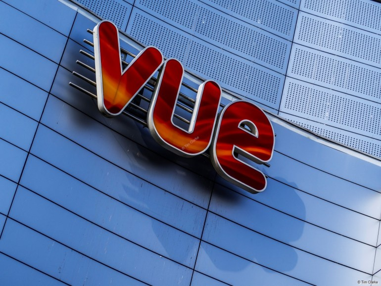 Vue Cinema: Abstract of Exterior.