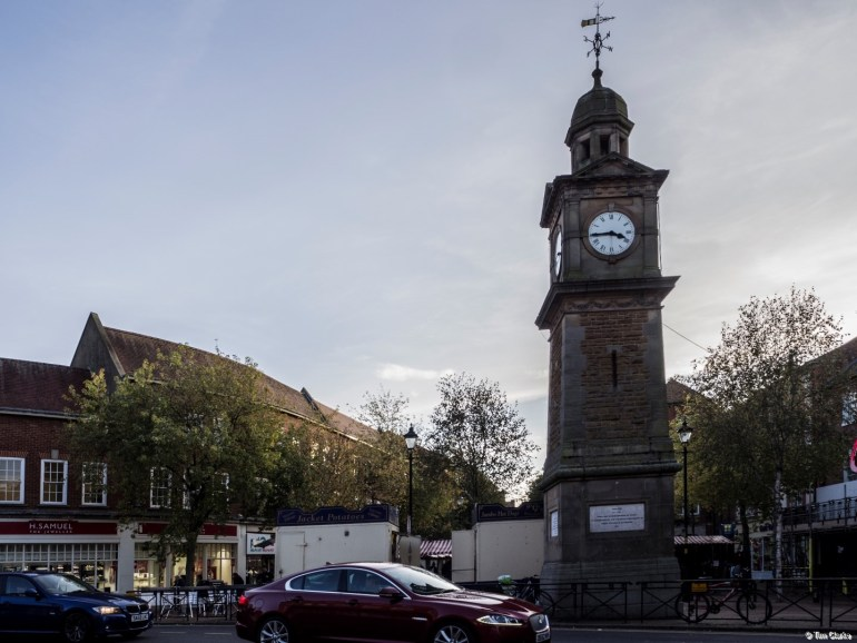 Rugby Clock Tower: Focal point for the town.