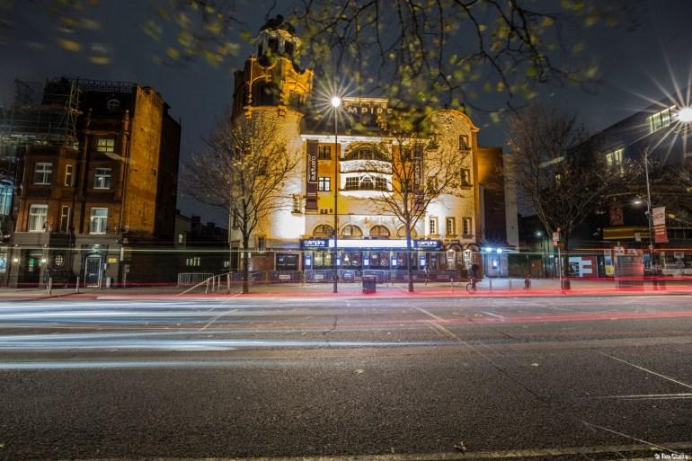 BBC Television Theatre: O2 Empire in Shepherds Bush Green.