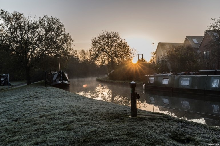 Misty Frosty Morning: You can't beat the beauty of a morning like this.
