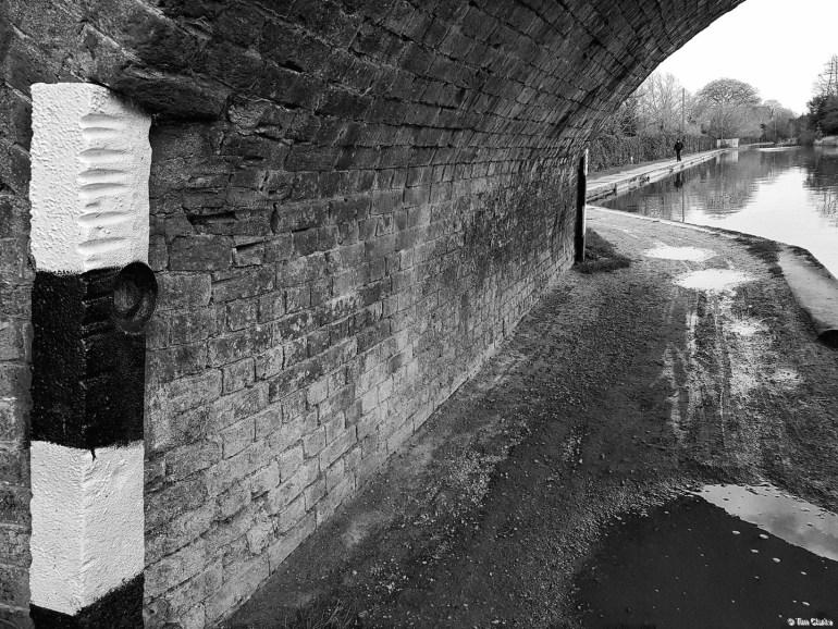 Bridge 45: Study in monochrome.