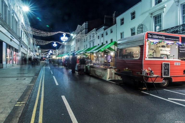 Christmas Market: Festive fun and shopping in Leamington Spa.
