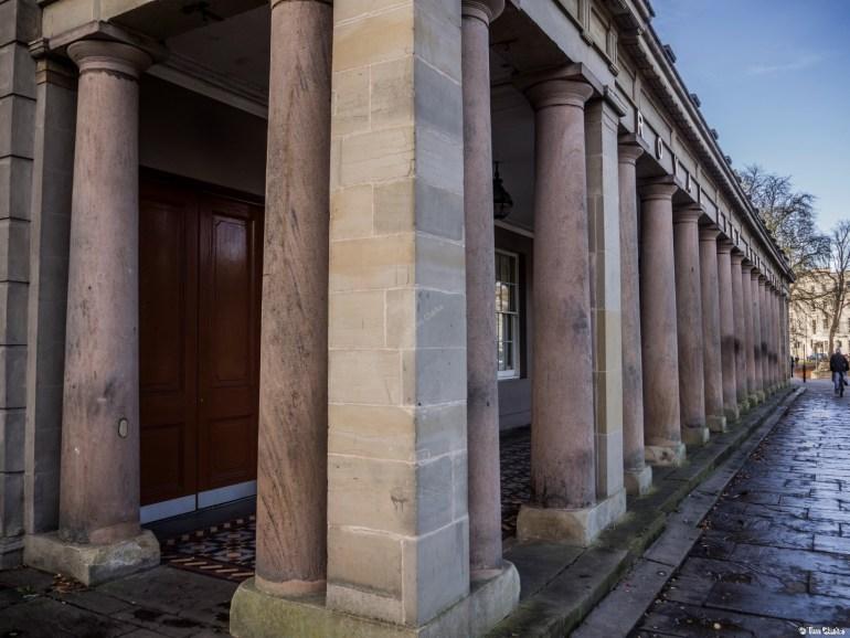 Royal Pump Rooms: Classic Colonnade.