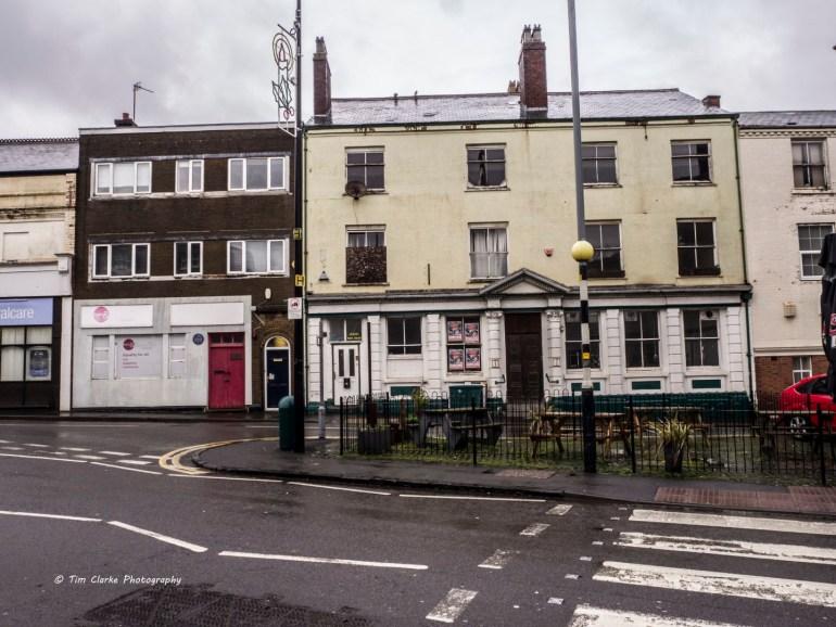 The very first branch of Lloyds Bank, in Birmingham Street, Oldbury.
