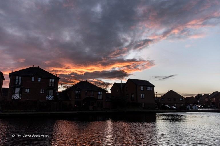 Glorious Sunset after Storm Dennis.