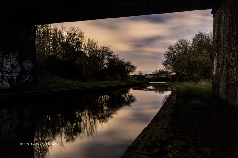 VIew under Cobbs Engine Bridge, Windmill End.