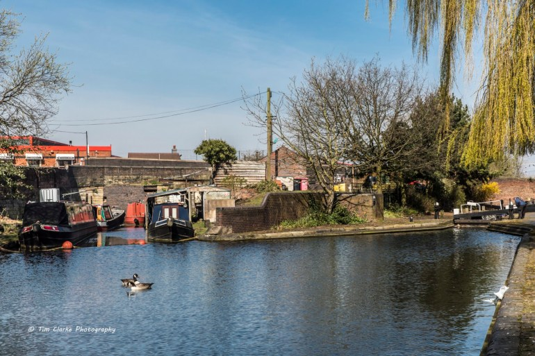 Old Canal Arm by Wolverhampton Top Lock.